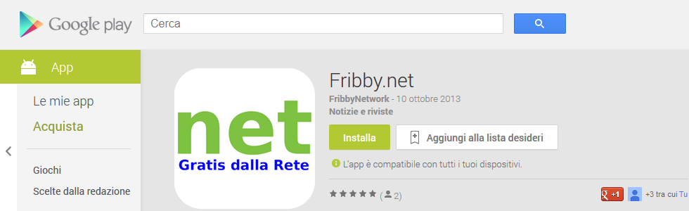 app android fribby